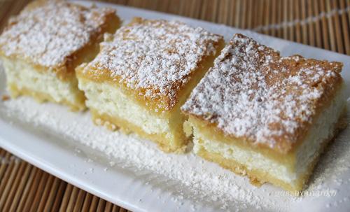 Öntött túrós süti recept