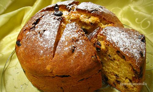 Csokis Mazsolás Panettone recept
