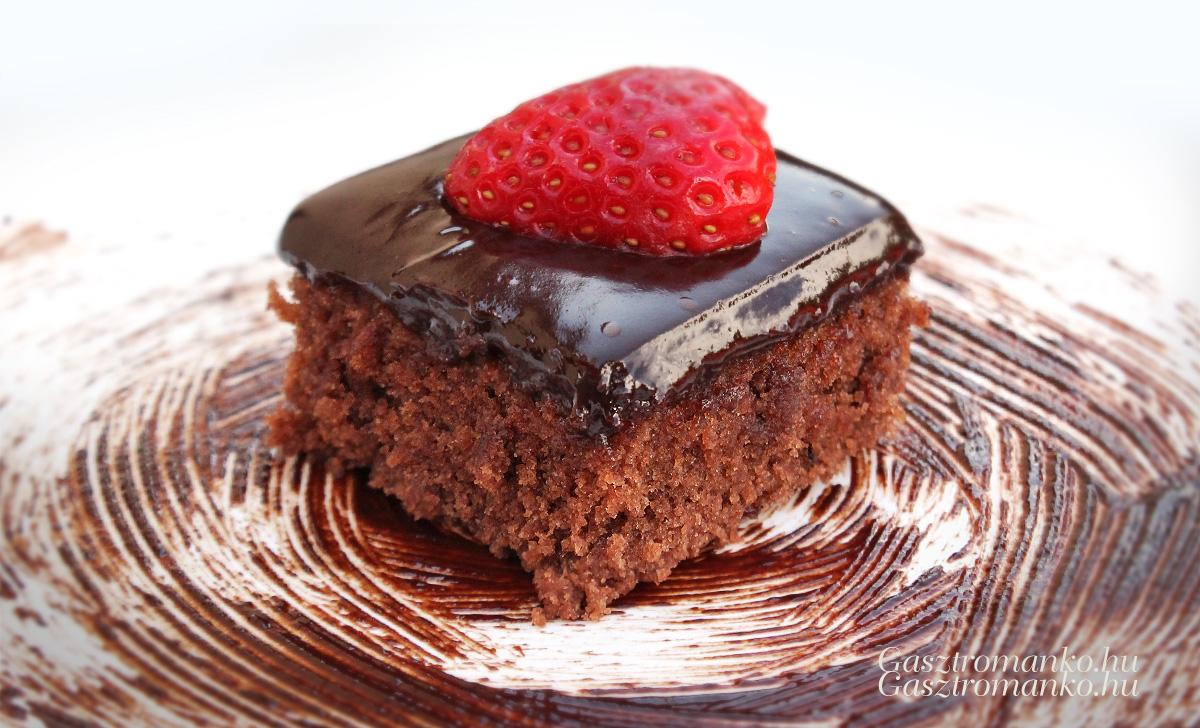 Pihe-puha csokis kocka recept