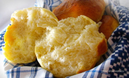 Pihe-puha zsemle recept