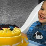Pókember torta recept