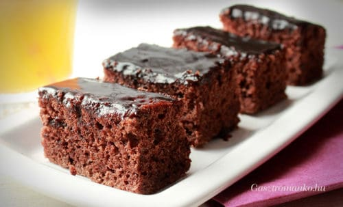 Puha csokikocka recept