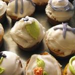 Répás muffin  fondantetővel recept