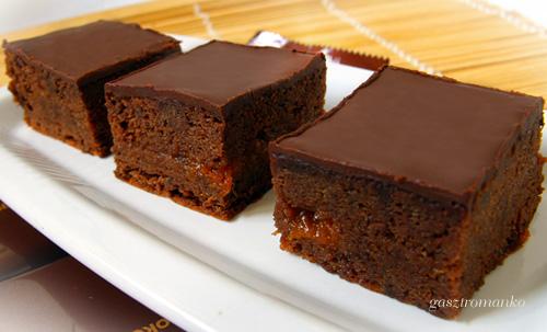 Pillekönnyű csokis kocka recept