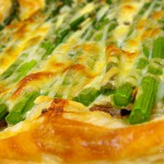 Spárgás pite recept