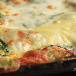 Spenótos lasagne recept