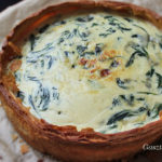 Spenótos quiche recept
