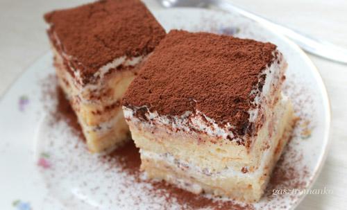 Sztracsatella szelet sütés nélkül recept