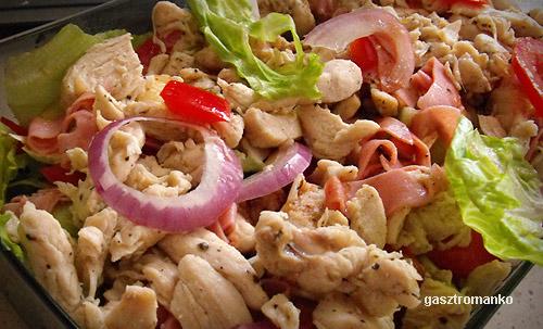Takeaway saláta recept
