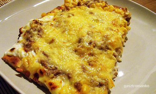 Tonhalas pizza recept