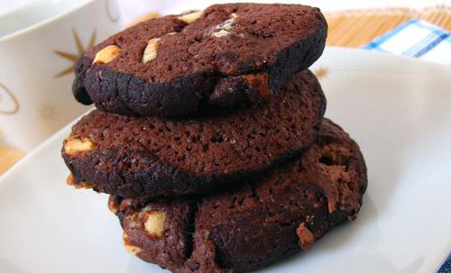 Triplacsokis keksz recept