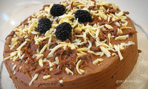 Szedres trüffel torta recept