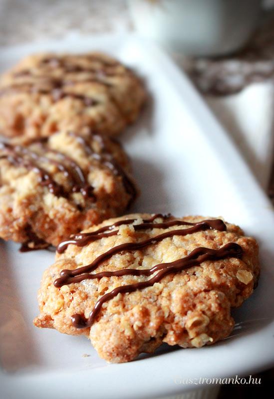 Zabpelyhes keksz – tejmentes recept