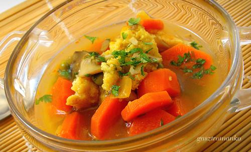 Zöldségragu leves recept