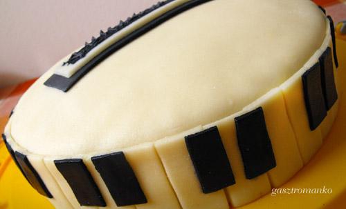 Zongora torta recept